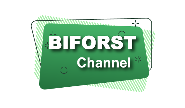 Logo biforst channel